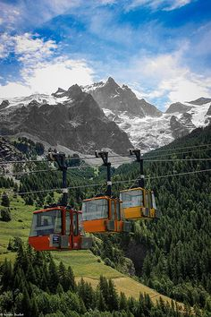 The best way to travel the #Alps