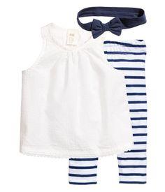 Baumwollset   Weiß   Kinder   H&M DE