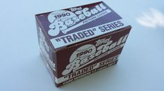 1990 Topps Traded Series Complete Set Baseball Cards  by BattyGear