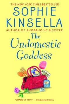 The Undomestic Goddess by Sophie Kinsella. This is a fun, lighthearted quick read. It would make a great Chick Flick!