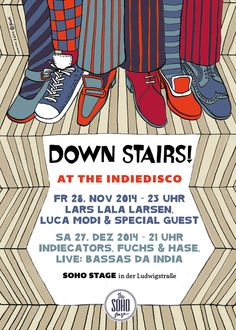 Down Stairs! at the Indiedisco (Winter-Version)