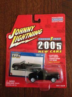JOHNNY WHITE LIGHTNING 2005 CHEVY SSR LIGHTNING STRIKE NEW CARS BLUE