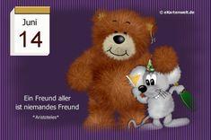 Juni, Teddy Bear, Night, Animals, Day Of Year Calendar, February, Good Morning, Love, Animales