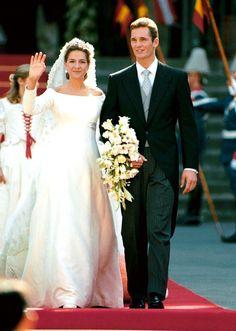 H.R.H. Infanta Cristina of Spain and Iñaki Urdangarin Liebaert Wedding  (1997)