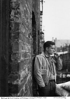 This is my favorite portrait of Jack Kerouac taken by Allen Ginsberg. listal.com