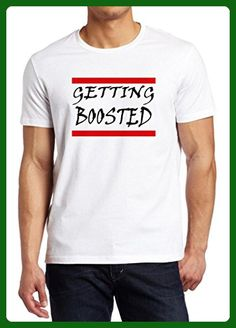 Gamer Quote Getting Boosted Shirt Custom Made T-shirt (XL) - Gamer shirts (*Amazon Partner-Link)