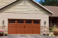 Portland and Vancouver's original Overhead Door distributor. We install, repair, maintain residential garage doors. A wide variety of styles and materials! Garage Door Styles, Garage Door Design, Garage Door Repair, Carriage Style Garage Doors, Carriage Doors, Overhead Garage Door, Wood Garage Doors, Style At Home, Garage Door Weather Seal