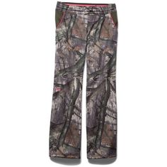 Under Armour Women's Camo Armourfleece Pant ($75) ❤ liked on Polyvore featuring activewear, activewear pants, logo sportswear, under armour sportswear and under armour