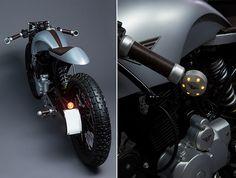 Hero Honda Karizma 'Sliver' by Mean Green Customs