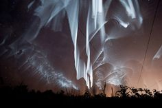 3 Rare White Curtain Auroras Seen Over Finland Read more at http://designyoutrust.com/2016/06/very-sharply-defined-rare-white-curtain-auroras-seen-over-finland/#ME51ueUIklegmGJL.99