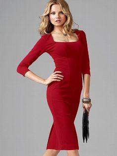 Ponte Sheath Dress - Victoria's Secret