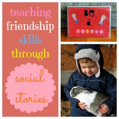 Teaching Friendship Skills Through Social Stories-Help kids learn what it means to be a good friend with a simple social story book.