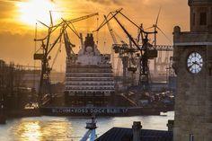 Hamburger Hafen / Landungsbrücken