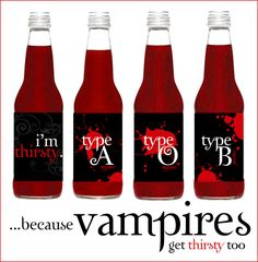 I want to drink your blood :)