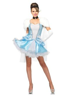 54386eb16d Cinderella Slipperless 3 Pc Costume. Cinderella CostumeCinderella DressesPrincess  CostumesHalloween LooksCouple Halloween CostumesCostumes For WomenAdult ...