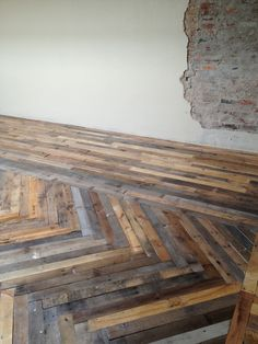 if that is a wood floor which pretty sure it is I would LOVE to have it on my floors when I look at buying a house :)