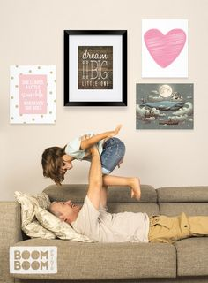 This site has such awesome art for kids and nurseries! Definitely need to come back when I'm decorating the nursery.