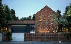 Nowe Oceanarium w Gdyni - Dyplom roku 2015 Tamizo Architects, Modern Barn House, Modern Houses, Classic Architecture, House Elevation, Village Houses, Brick Building, Brick And Stone, Brickwork