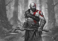 ArtStation - Kratos art, Olivier Bernard