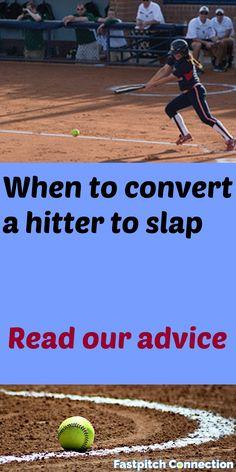 When do I convert a hitter to slap? Elite Softball, Softball Pitching Machine, Softball Workouts, Softball Drills, Softball Jerseys, Softball Coach, Girls Softball, Fastpitch Softball, Softball Stuff