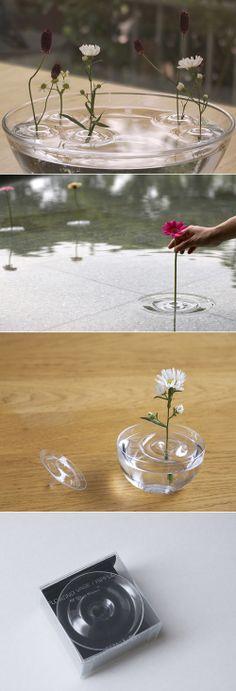 floating ripple vases