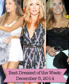 Want to find look-a-like outfits of Ariana Grande, Kate Husdon, and Kimberley Garner?! Shop with Editor Raisa!