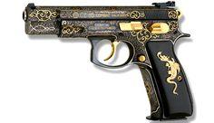 OMG i need this one .. beautiful CUSTOM CZ 85 COMBAT