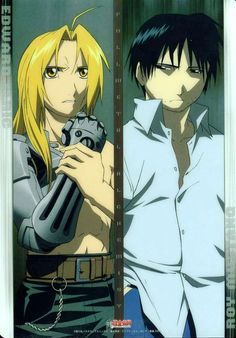 Edward Elric and Roy Mustang _Fullmetal Alchemist Brotherhood Fullmetal Alchemist Brotherhood, Fullmetal Alchemist Edward, All Anime, Me Me Me Anime, Manga Anime, Anime Art, Anime Stuff, Colonel Mustang, Roy Mustang