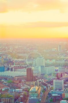 Incredible Sunset from London: This series of posts has a ton of information on London! The shard and the London eye post-date my time there, so this is fun and new for me! Looking forward to exploring new corners of the City with the kids next time we're in England!