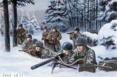 Holding the Line | by David Pentland | Vielsalm, Belgium, 22nd December 1944. Men of the 508th PIR, along with the rest of the 82nd Airborne Division were rushed to the Ardennes and deployed in an attempt to halt the onslaught of 6th SS Panzer Army, specifically Kampfgruppe Peiper.