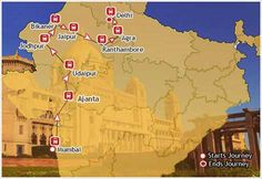 Maharajas Express :-  For 8 days this train takes guests on a ride across the best & the most prominent destinations of the country - Taj Mahal, the Khajuraho temples, wildlife environs of Ranthambore, Fatehpur Sikri and the holy bathing Ghats of Varanasi. The cheapest rate per person per day is a whopping US$ 800 for a Deluxe cabin. The next two slabs are US$ 900 and US$ 1,400. And the Presidential Suite comes for US$ 2,500.