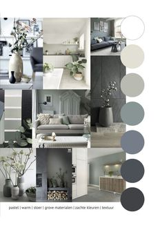 Portfolio 1 - HOME interieur & woondecoratie # woonkamer Portfolio 1 - HOME inter . Portfolio 1 - HOME interieur & woondecoratie # woonkamer Portfolio 1 - HOME interieur & woondecoratieManiacal Living Room Table # Möbliert Home Living Room, Living Room Designs, Living Room Decor, Mood Board Interior, Home Interior Design, Interior Modern, Room Colors, House Colors, Colours