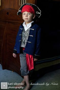 Pirate Jack Costume, Pirate Boy Costume, Pirate Toddler Kids Costume, Birthday Fantasy, Pirate Boy Dress Up, Pirate Baby, Child Photo Prop by HandMadeByNeva on Etsy https://www.etsy.com/listing/101105220/pirate-jack-costume-pirate-boy-costume
