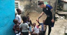Soccer star Ashlyn Harris calls volunteer trip to Liberia 'life-changing'