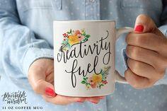 Coffee Mug Ceramic mug quote mug Creativity by PrintableWisdom