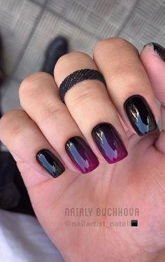 Ongles Gel Halloween, Halloween Nail Colors, Cute Halloween Nails, Halloween Nail Designs, Trendy Halloween, Cute Nails, Pretty Nails, Burgundy Nail Art, Uñas Fashion