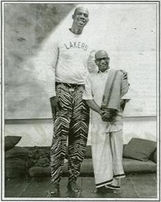 """[renowned basketball star] Abdul-Jabbar is unequivocal about the contributions yoga made to his longevity. """"As preventative medicine, it's unequaled,"""" he says. """"Once I started practicing it, I had no muscle injuries during my career. Yoga can help any athlete with hip joints, muscles, tendons, and knees. Plus it keeps you in touch with your body."""""""