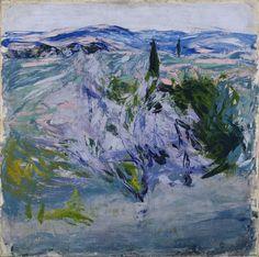 Ellen Thesleff, 'Landscape from Tuscany, Olive Grove'. Picasso Paintings, Seascape Paintings, Landscape Paintings, Abstract Landscape, Abstract Art, Art Texture, Art Van, Ouvrages D'art, Art Et Illustration