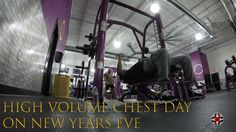 High Volume Chest Day On New Years Eve | 12-31-2016 | VLOG 99