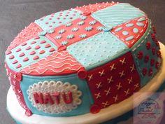 Patchwork cake...