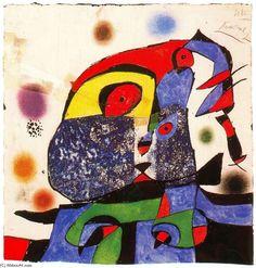 Joan Miro >> Maqueta núm. 4 de la sèrie Gaudí