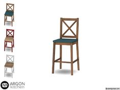 - Argon Kitchen - Bar Stool Found in TSR Category 'Sims 4 Miscellaneous Comfort' Sims 4 Mods Clothes, Sims Mods, Sims 4 Tsr, Muebles Sims 4 Cc, Sims 4 Bedroom, Sims 4 Cc Furniture, Sims 4 Build, Sims Resource, The Sims4