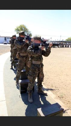 Recruits of Company F, 2nd Recruit Training Battalion, have to start with the basic fundamentals of marksmanship during Grass Week at Edson Range aboard Marine Corps Base Camp Pendleton, Calif., Sept. 4.