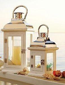 i love my potterybarn lanterns