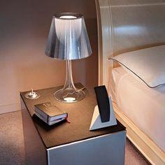 Miss K (transparent / argent aluminisé) Lampe à poser FLOS | Luminaire Vibert Éclairage