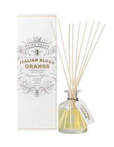 $38.95 Kangaroo Island Organic Ligurian Honey with Blood Orange Fragrance Diffuser. A fresh, fruity burst of Italian blood orange and sun-kissed peaches on a delicate base of vanilla pod and soft musk – with a hint of rose. 200ml. #diffuser #organic #gift #homedecor #fragrance Kangaroo Island, Sun Kissed, Blood Orange, Peaches, Vanilla, Honey, Fragrance, Delicate, Base