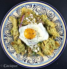 Tired of the old Mexican standard of red or green chile chilaquiles? Our Creamy Cilantro Chilaquiles will quickly become one of your family's favorite brea