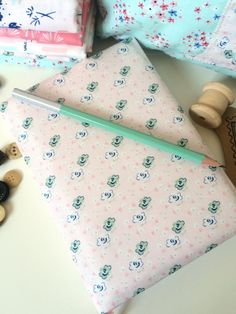 Notebook with Nana Company Fabric. Working Mother, Bookbinding, Coin Purse, Traditional, Purses, Fabric, Projects, Notebook, Groomsmen