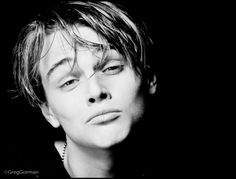 Leonardo DiCaprio in his younger years Greg Gorman