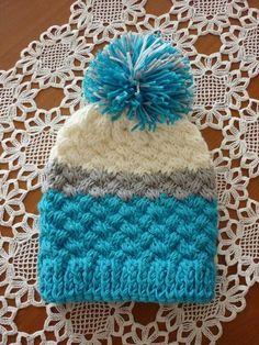 Crochet Kids Hats, Knitted Hats, Winter Hats, Knitting, Caps Hats, Blue Prints, Knit Hats, Tricot, Knit Caps